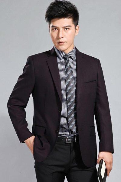 Đồng phục công sở – Áo vest nam màu đen 01