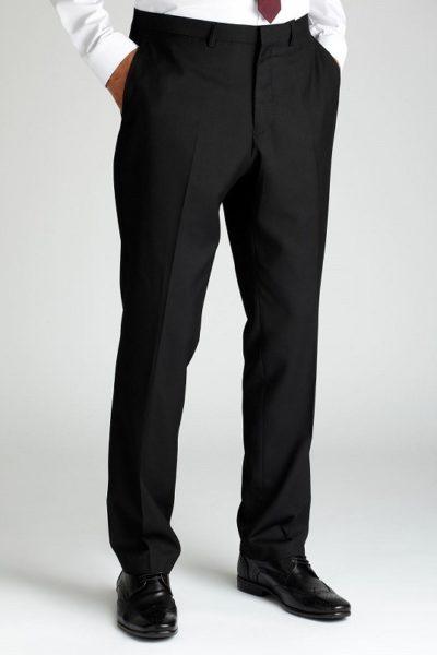 Đồng phục công sở – Quần âu nam màu đen 01
