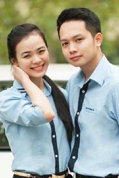 Đồng phục học sinh sinh viên – Đồng phục sinh viên áo sơ mi xanh tay dài  01