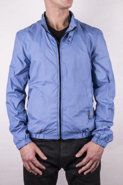 Đồng phục áo khoác – Áo khoác gió màu tím nhạt không nón 01