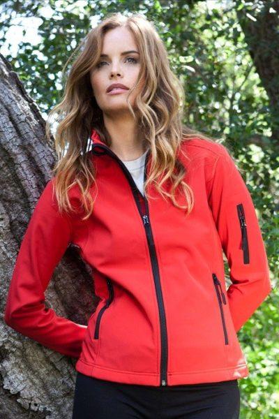 Đồng phục áo khoác – Áo khoác gió màu đỏ không nón 16
