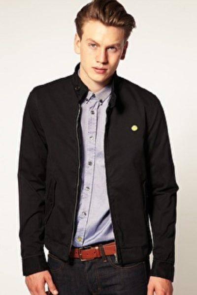 Đồng phục áo khoác – Áo khoác gió màu đen không nón 17