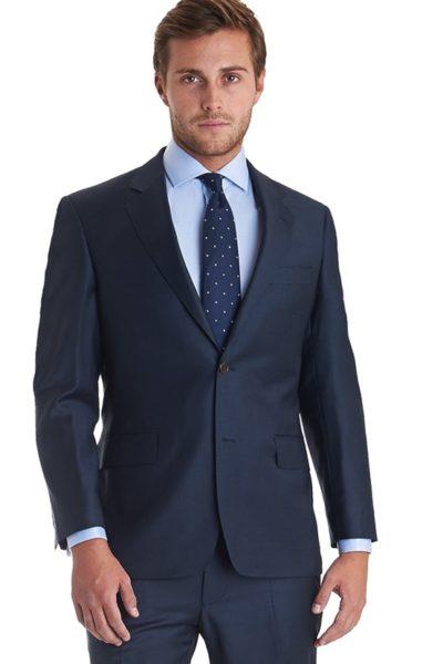 Đồng phục công sở – Áo vest nam màu đen 03