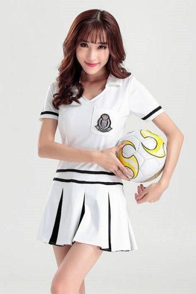 Đồng phục PG màu trắng 04