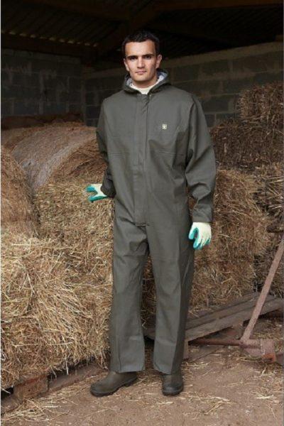 Đồng phục bảo hộ lao động – Quần áo bảo hộ lao động màu xám tay dài 06