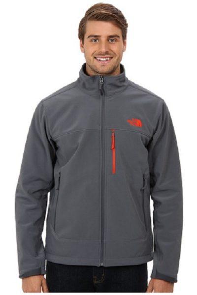 Đồng phục áo khoác – Áo khoác gió màu xám không nón 06