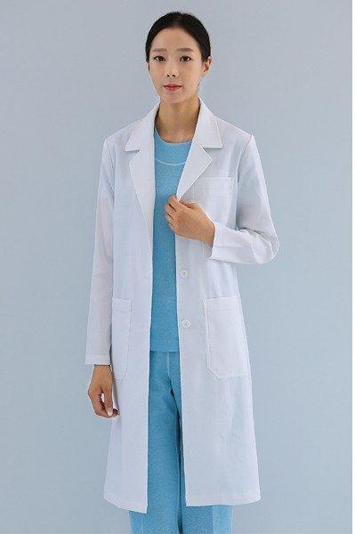 Đồng phục bệnh viện – Đồng phục áo blouse nữ màu trắng tay dài 10