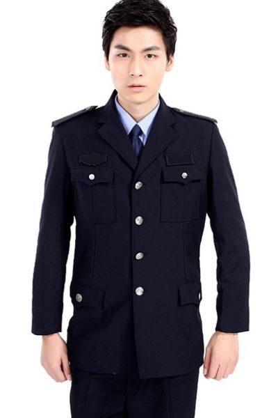 Đồng phục bảo vệ vệ sĩ – Quần áo bảo vệ vệ sỹ màu đen tay dài11