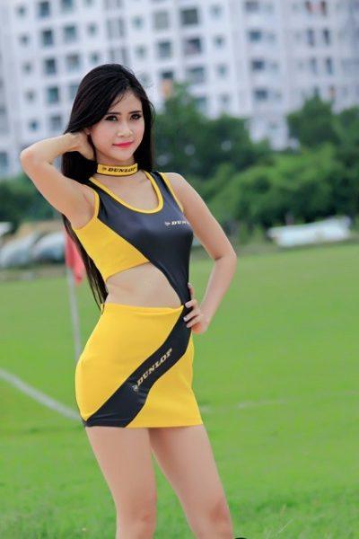 Đồng phục PG màu vàng phối đen 11