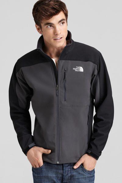 Đồng phục áo khoác – Áo khoác gió phối màu đen xám không nón 11