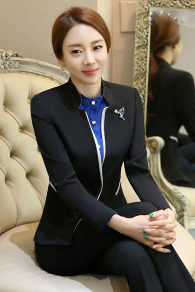 Đồng phục nhà hàng khách sạn – Đồng phục quản lý quần tây đen, vest đen 13