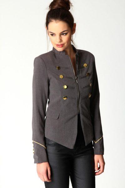 Đồng phục công sở – Áo vest nữ màu đen 14