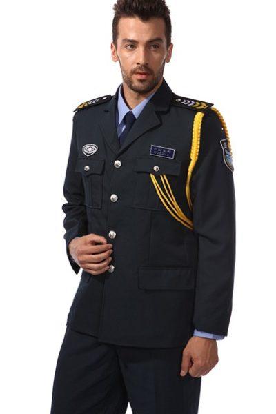 Đồng phục bảo vệ vệ sĩ – Quần áo bảo vệ vệ sỹ màu đen tay dài 17