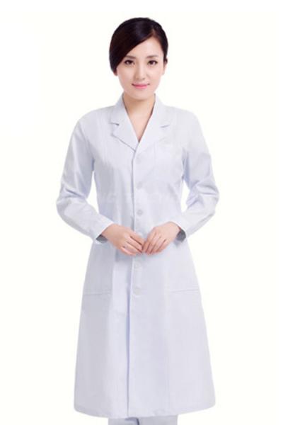 Đồng phục bệnh viện – Đồng phục áo blouse nữ màu trắng tay dài 22