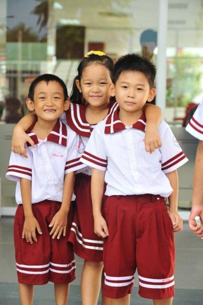 Đồng phục học sinh sinh viên – Đồng phục học sinh cấp II 01