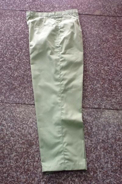 Đồng phục bảo hộ lao động bán sẵn – Quần bảo hộ màu xanh 02