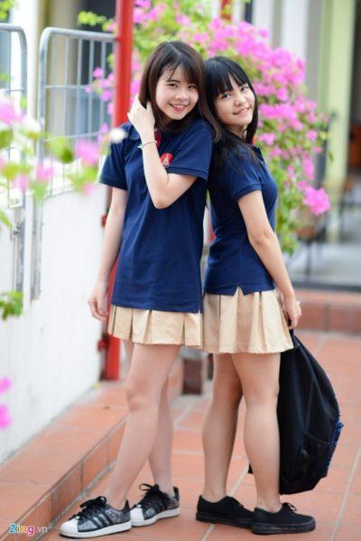 Đồng phục học sinh sinh viên – Đồng phục học sinh cấp II 06