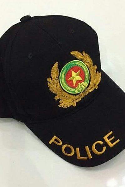 Đồng phục bảo vệ vệ sĩ – Phụ kiện nón 05