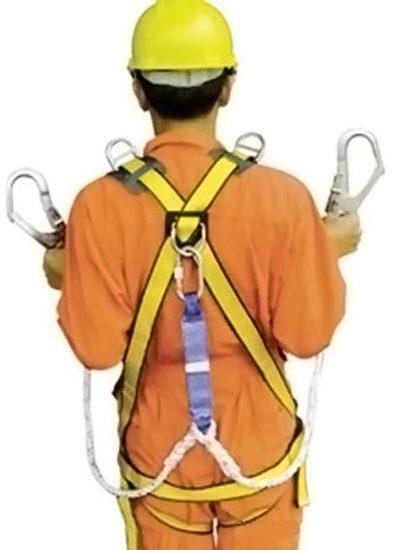Đồng phục bảo hộ lao động – Phụ kiện dây đai an toàn màu vàng