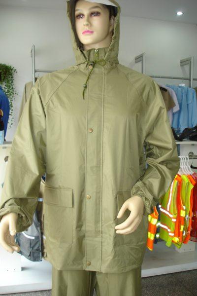 Đồng phục bảo hộ lao động – Áo mưa bảo hộ lao động có túi