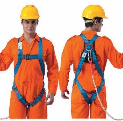 Đồng phục bảo hộ lao động – Phụ kiện dây đai an toàn xanh biển