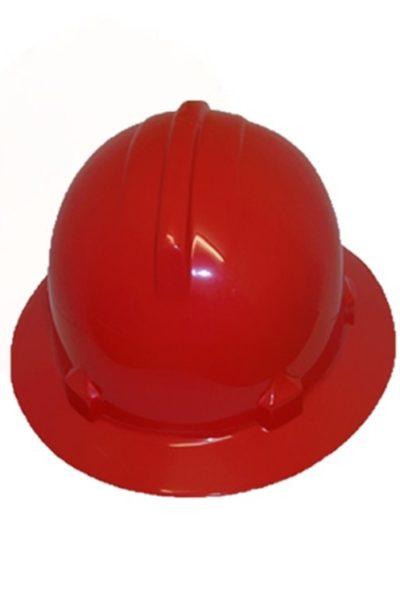 Phụ kiện bảo hộ lao động – Nón bảo hộ lao động màu đỏ 17