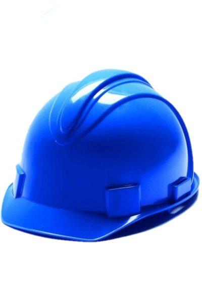 Phụ kiện bảo hộ lao động – Nón bảo hộ lao động màu xanh 18