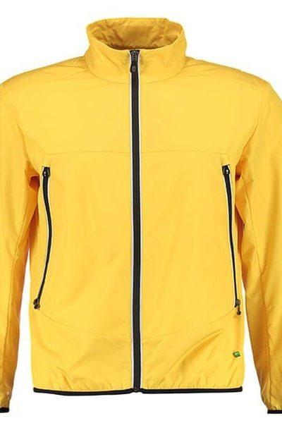 Đồng phục áo khoác – Áo khoác gió màu vàng không nón 25