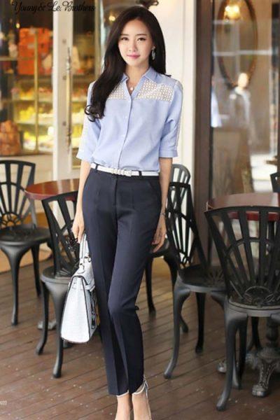 Đồng phục công sở – Quần âu nữ màu đen 29
