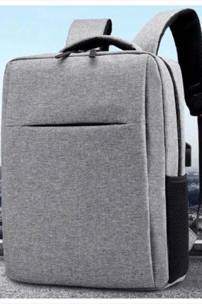Đồng phục ba lô túi xách – Ba lô màu xám 28