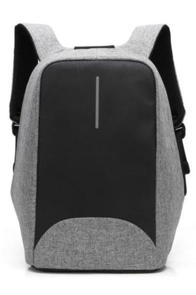 Đồng phục ba lô túi xách – Ba lô màu xám đen 44