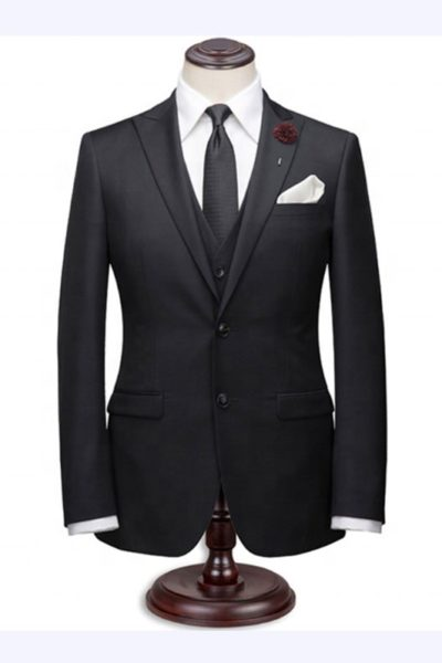 Đồng phục công sở – Áo vest nam màu đen 40
