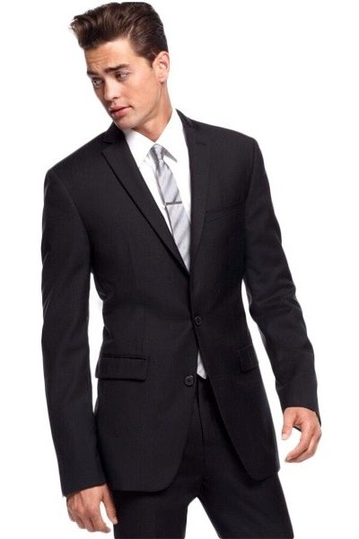 Đồng phục công sở – Áo vest nam màu đen 54