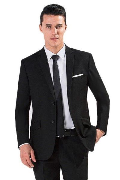 Đồng phục công sở – Áo vest nam màu đen 58