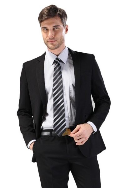 Đồng phục công sở – Áo vest nam màu đen 60