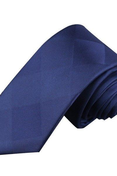 Phụ kiện – Caravat màu xanh phối caro 24