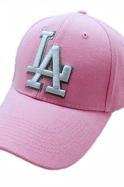 Phụ kiện – Đồng phục mũ lưỡi trai màu hồng nhạt 43