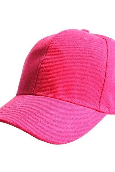 Phụ kiện – Đồng phục mũ lưỡi trai màu hồng 46