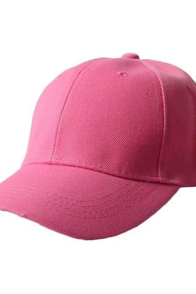 Phụ kiện – Đồng phục mũ lưỡi trai màu hồng ruốc 49