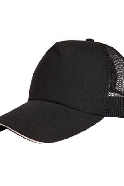 Phụ kiện – Đồng phục mũ lưỡi trai màu đen 54
