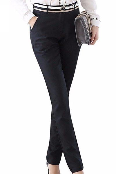 Đồng phục công sở – Quần âu nữ màu đen 35