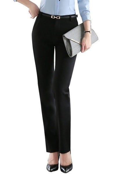 Đồng phục công sở – Quần âu nữ màu đen 43