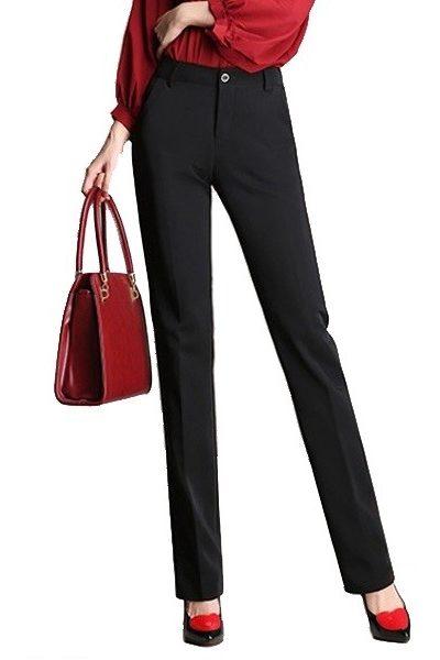 Đồng phục công sở – Quần âu nữ màu đen 44