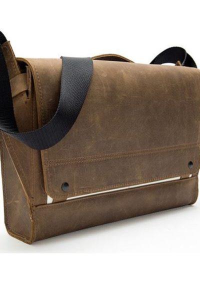 Đồng phục ba lô túi xách – Túi đeo chéo màu nâu 64