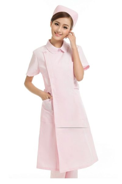 Đồng phục bệnh viện – Đồng phục y tá màu hồng 29