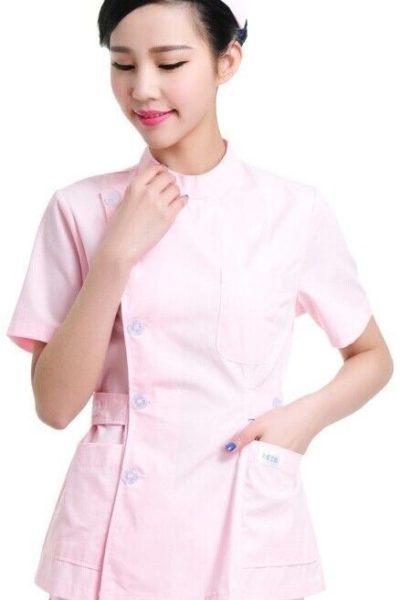 Đồng phục bệnh viện – Đồng phuc y tá màu hồng 36