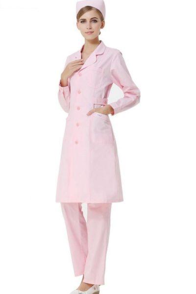 Đồng phục bệnh viện – Đồng phục y tá màu hồng 39