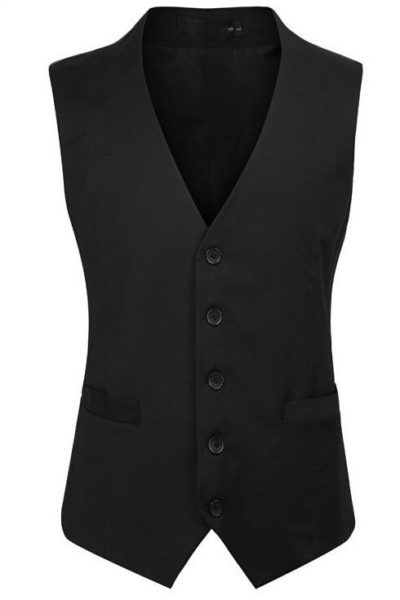 Đồng phục công sở – Áo ghi lê nam màu đen 12