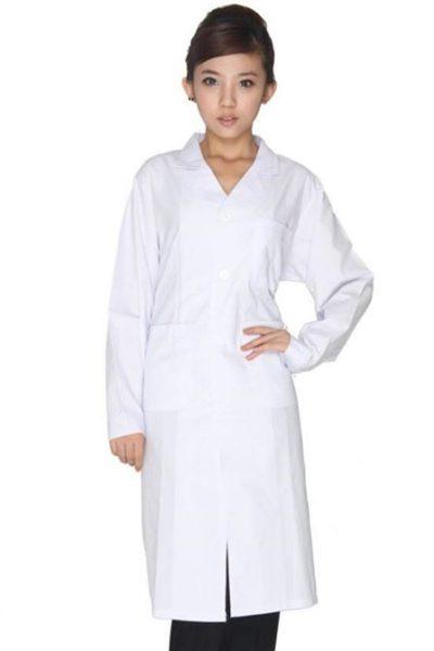 Đồng phục bệnh viện – Đồng phục áo blouse màu trắng 29