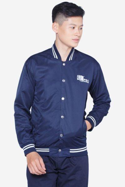Đồng phục học sinh sinh viên – Áo khoác học sinh màu xanh đen  14